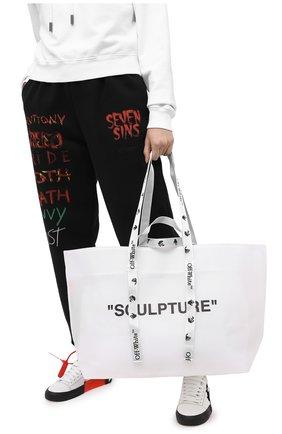 Женский сумка-шопер sculpture OFF-WHITE белого цвета, арт. 0WNA094E20PLA0020110 | Фото 2