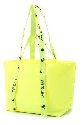 Женский сумка-шопер sculpture small OFF-WHITE желтого цвета, арт. 0WNA143E20PLA0011810 | Фото 3