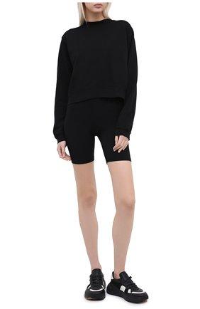 Женские шорты COTTON CITIZEN черного цвета, арт. W4186112 | Фото 2
