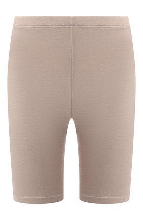 Женские шорты COTTON CITIZEN темно-бежевого цвета, арт. W4186112 | Фото 1