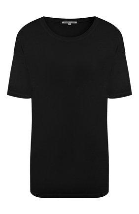 Женская футболка COTTON CITIZEN черного цвета, арт. W12122 | Фото 1