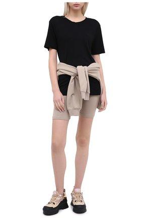 Женская футболка COTTON CITIZEN черного цвета, арт. W12122 | Фото 2