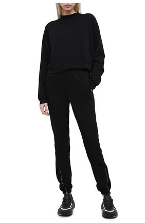Женский хлопковый свитшот COTTON CITIZEN черного цвета, арт. W309261 | Фото 2