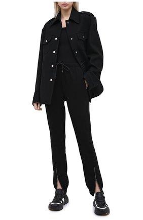 Женский топ COTTON CITIZEN черного цвета, арт. W121964 | Фото 2