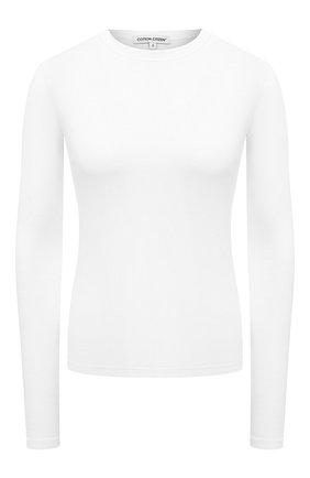 Женская лонгслив COTTON CITIZEN белого цвета, арт. W215464 | Фото 1