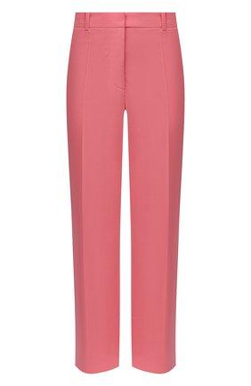 Женские шерстяные брюки JOSEPH розового цвета, арт. JP000982   Фото 1