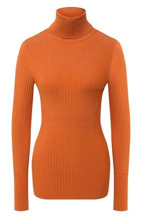 Женская водолазка из вискозы JOSEPH оранжевого цвета, арт. JF005016   Фото 1