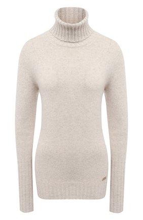 Женский кашемировый свитер KITON бежевого цвета, арт. D48725501 | Фото 1