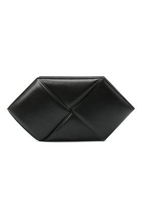 Женский клатч BOTTEGA VENETA черного цвета, арт. 639955/VCQR2 | Фото 1
