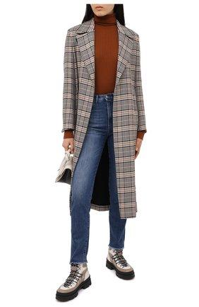 Женские джинсы 3X1 синего цвета, арт. WP0171079/ABBI | Фото 2