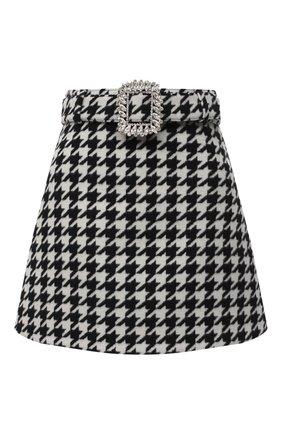 Женская юбка GIUSEPPE DI MORABITO черно-белого цвета, арт. PF20052SK-107 | Фото 1