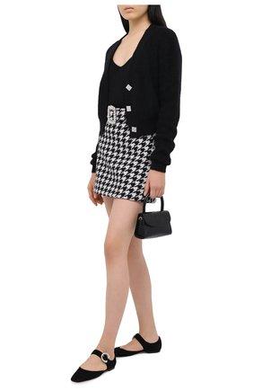 Женская юбка GIUSEPPE DI MORABITO черно-белого цвета, арт. PF20052SK-107 | Фото 2