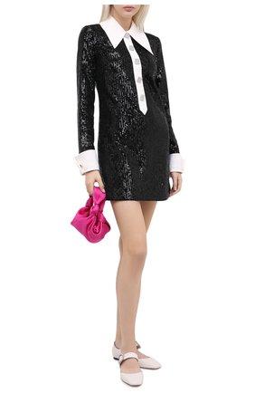 Женское платье с пайетками GIUSEPPE DI MORABITO черного цвета, арт. PF20142DR-104 | Фото 2
