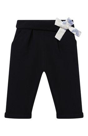 Детские брюки CHLOÉ синего цвета, арт. C04172 | Фото 1
