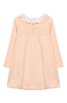 Женский хлопковое платье CHLOÉ светло-розового цвета, арт. C02274 | Фото 2
