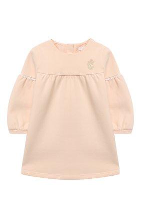 Женский хлопковое платье CHLOÉ светло-розового цвета, арт. C02273 | Фото 1