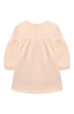 Женский хлопковое платье CHLOÉ светло-розового цвета, арт. C02273 | Фото 2