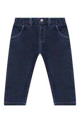Детские джинсы CHLOÉ синего цвета, арт. C04171 | Фото 1