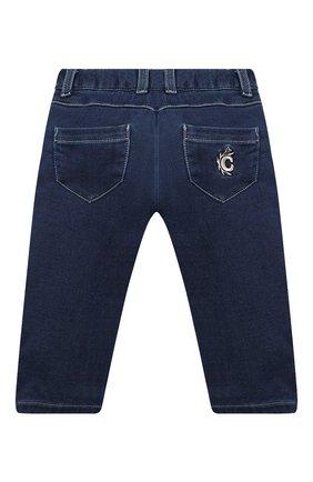 Детские джинсы CHLOÉ синего цвета, арт. C04171 | Фото 2