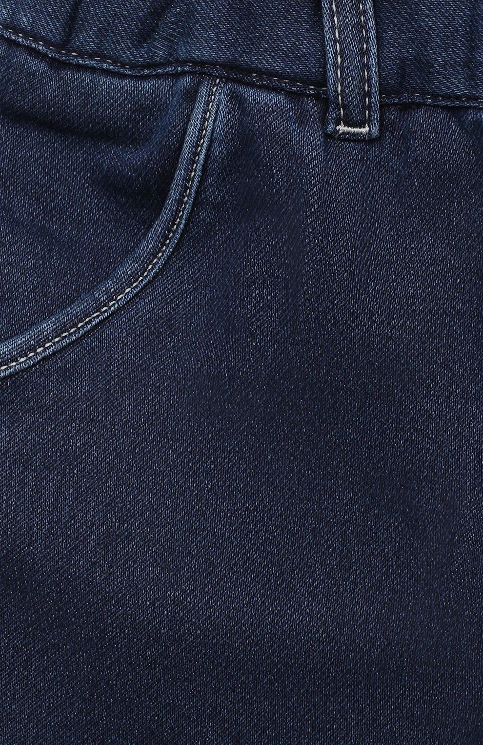 Детские джинсы CHLOÉ синего цвета, арт. C04171   Фото 3