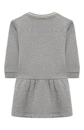 Женский хлопковое платье CHLOÉ серого цвета, арт. C02272 | Фото 2