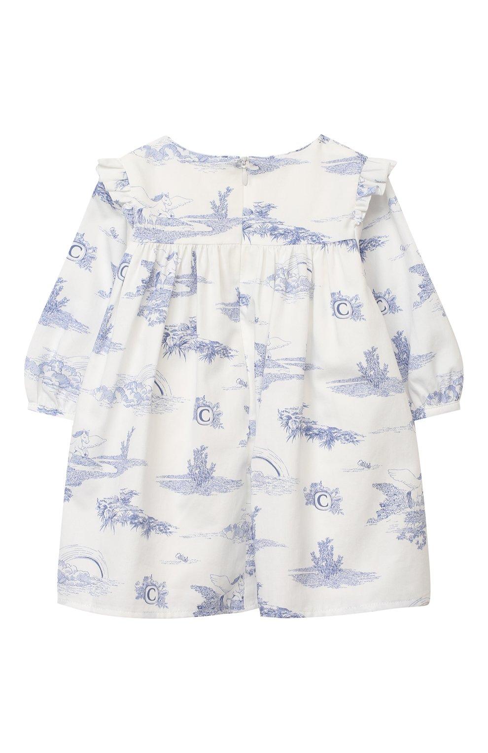 Женский платье CHLOÉ белого цвета, арт. C02270 | Фото 2