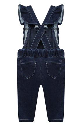 Детский джинсовый комбинезон CHLOÉ синего цвета, арт. C04176 | Фото 2