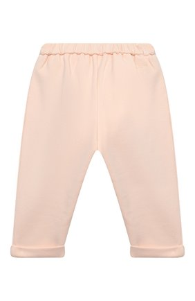 Детские брюки CHLOÉ светло-розового цвета, арт. C04172 | Фото 2