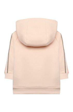 Детский комплект из толстовки и брюк CHLOÉ светло-розового цвета, арт. C08034 | Фото 3