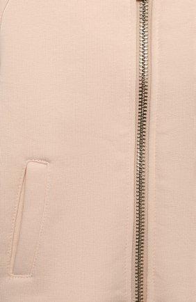 Детский комплект из толстовки и брюк CHLOÉ светло-розового цвета, арт. C08034 | Фото 6