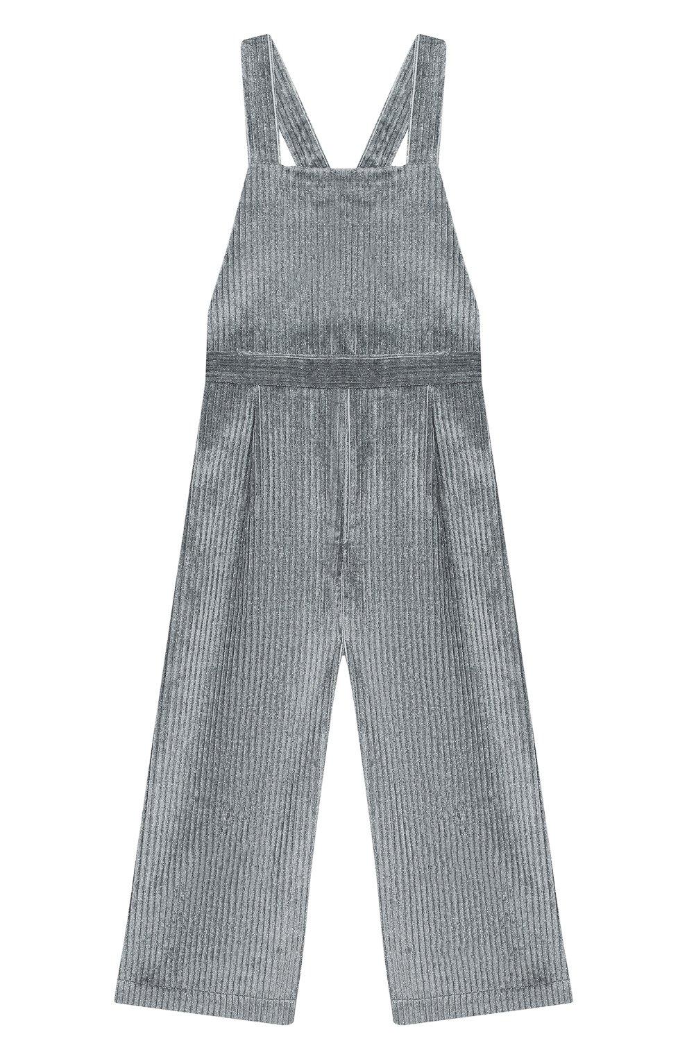 Детский комбинезон IL GUFO серого цвета, арт. A20ST071V0015/10A-12A   Фото 1