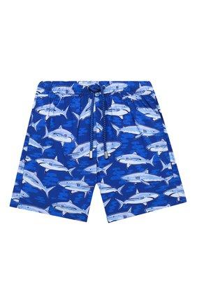 Детские плавки-шорты BLUEMINT синего цвета, арт. ARTHUS B0Y STRETCH | Фото 1