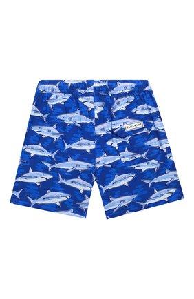Детские плавки-шорты BLUEMINT синего цвета, арт. ARTHUS B0Y STRETCH | Фото 2