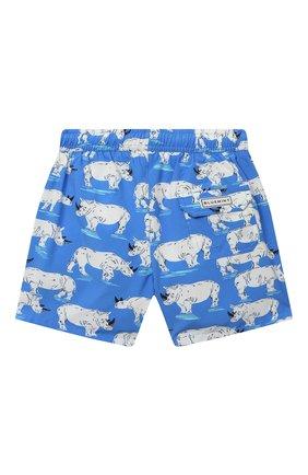 Детские плавки-шорты BLUEMINT голубого цвета, арт. ARTHUS B0Y STRETCH | Фото 2