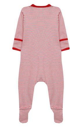 Детский хлопковый комбинезон MAGNOLIA BABY красного цвета, арт. 969-402-RD | Фото 2