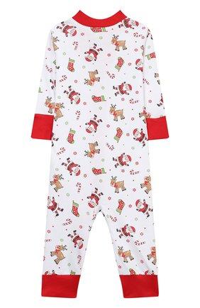 Детский хлопковый комбинезон MAGNOLIA BABY красного цвета, арт. 969-ZP-RD | Фото 2