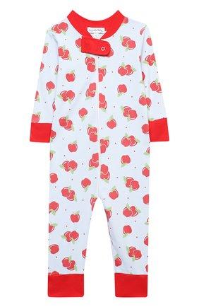 Детский хлопковый комбинезон MAGNOLIA BABY красного цвета, арт. 774-ZP-RD | Фото 1