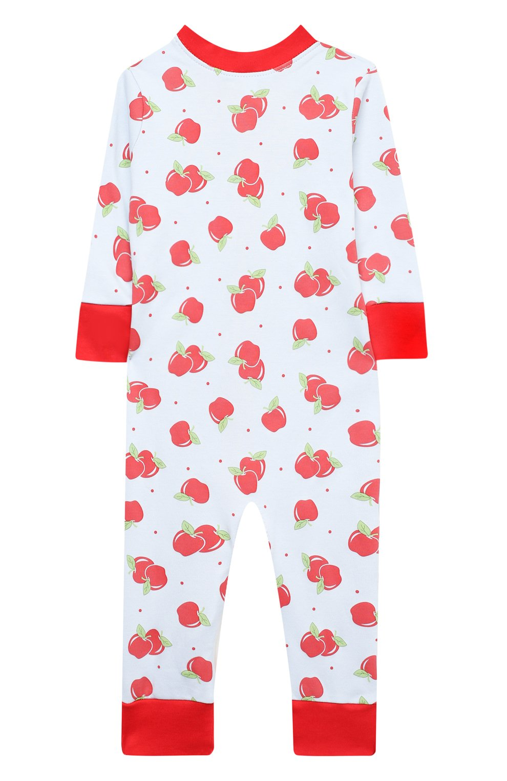 Детский хлопковый комбинезон MAGNOLIA BABY красного цвета, арт. 774-ZP-RD | Фото 2