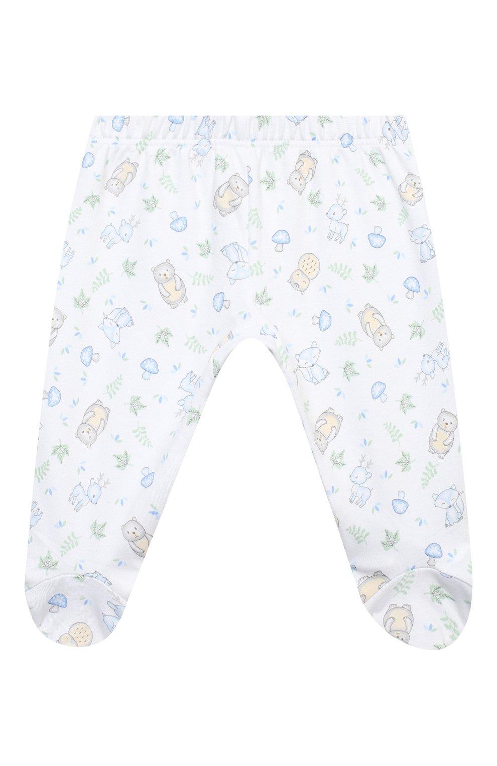Детский комплект из распашонки и ползунков MAGNOLIA BABY голубого цвета, арт. 562-735P-LB | Фото 4