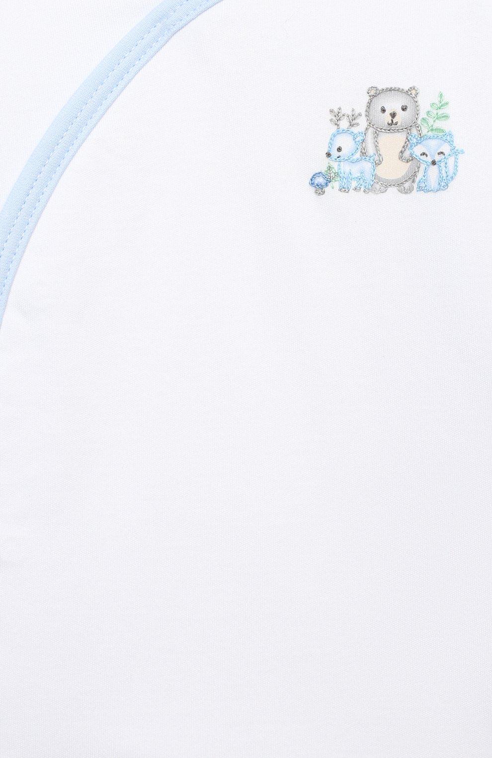 Детский комплект из распашонки и ползунков MAGNOLIA BABY голубого цвета, арт. 562-735P-LB | Фото 6