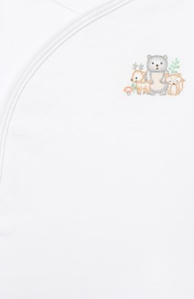 Детский комплект из распашонки и ползунков MAGNOLIA BABY белого цвета, арт. 562-735P-CE | Фото 6