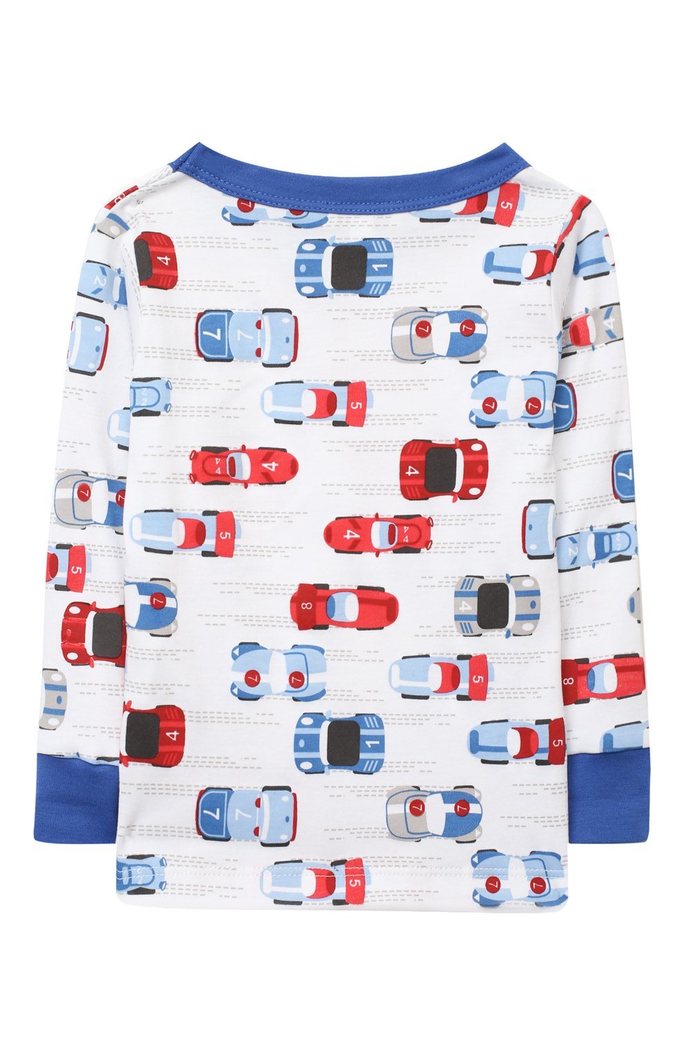 Детский хлопковая пижама MAGNOLIA BABY голубого цвета, арт. 979-LP-LB | Фото 3
