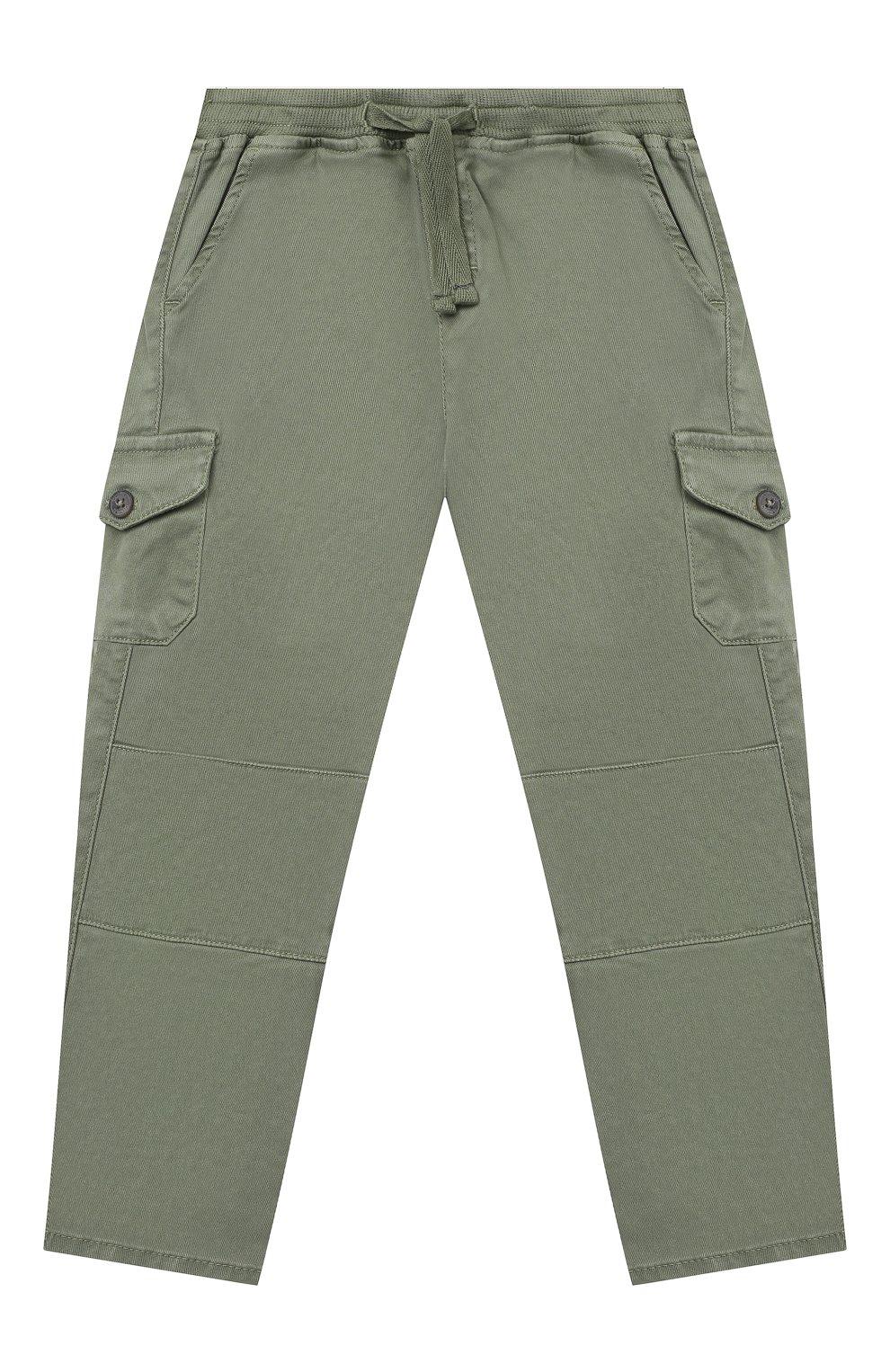 Детские брюки TARTINE ET CHOCOLAT хаки цвета, арт. TR22131/18M-3A   Фото 1