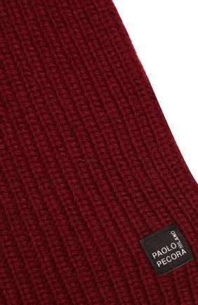 Детский шарф PAOLO PECORA MILANO бордового цвета, арт. PP2517 | Фото 2