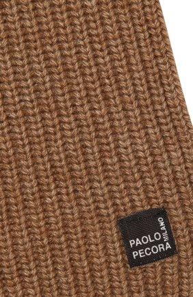 Детский шарф PAOLO PECORA MILANO бежевого цвета, арт. PP2517 | Фото 2