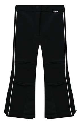 Детские утепленные брюки harlie MOLO черного цвета, арт. 5W20I103   Фото 1 (Материал внешний: Синтетический материал; Девочки Кросс-КТ: Брюки-одежда; Ростовка одежда: 4 года   104 см, 5 лет   110 см, 6 лет   116 см, 7 лет   122 см, 8 лет   128 см, 9 лет   134 см, 10 - 11 лет   140 - 146см)