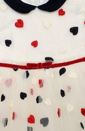 Женская платье MONNALISA разноцветного цвета, арт. 316922   Фото 3