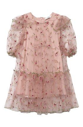 Детское платье ZHANNA & ANNA розового цвета, арт. ZAR150820 | Фото 1