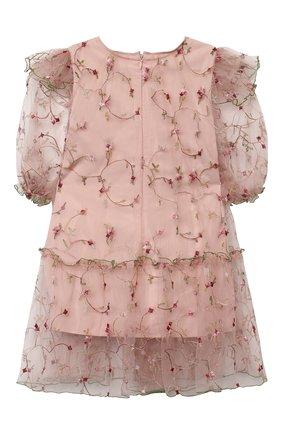 Детское платье ZHANNA & ANNA розового цвета, арт. ZAR150820 | Фото 2