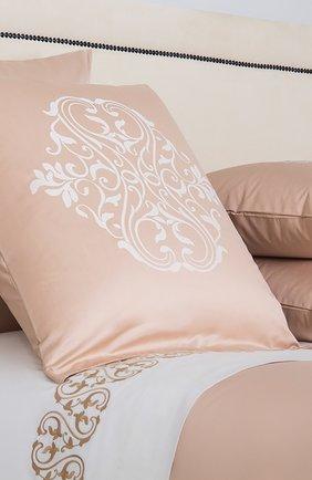 Мужского хлопковая наволочка FRETTE светло-розового цвета, арт. FR6594 E0778 065B | Фото 2